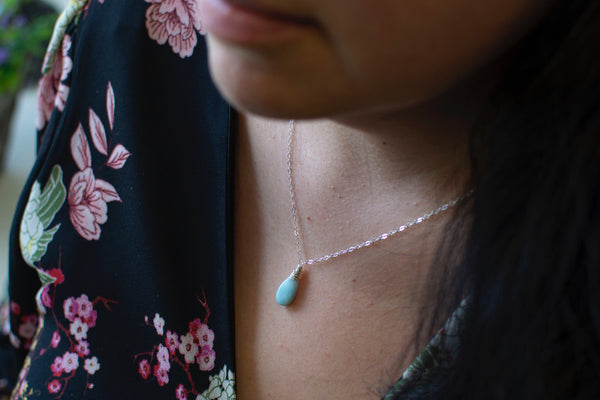 Summer Sky Necklace