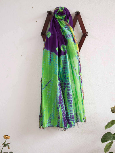 Tye And Dye Cotton Dupatta