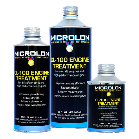 Microlon Engine Treatment Kit - Lycoming Aircraft [O-540 Engine]