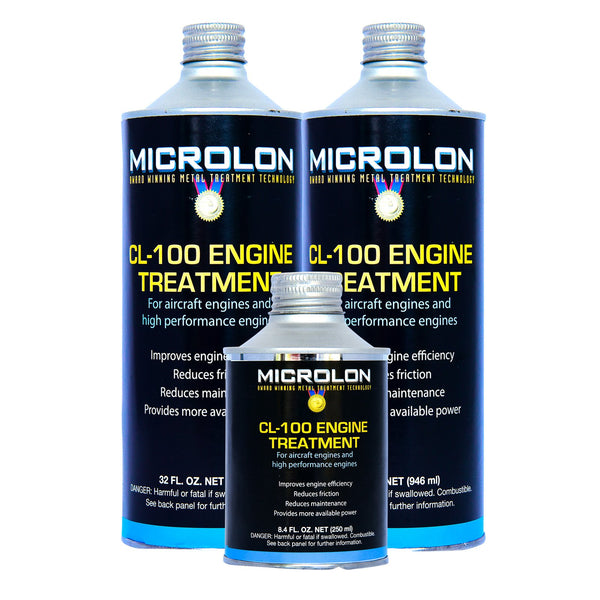 Microlon Engine Treatment Kit - Lycoming Aircraft [GO-480 Engine]