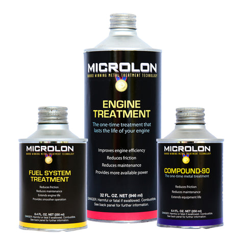Microlon Engine Treatment Kit - Car & Light Truck