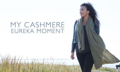 The New Girl Upstairs - My Cashmere Eureka Moment