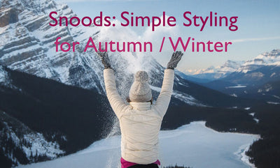 The Girl Upstairs: Snoods: Simple Styling For Autumn / Winter