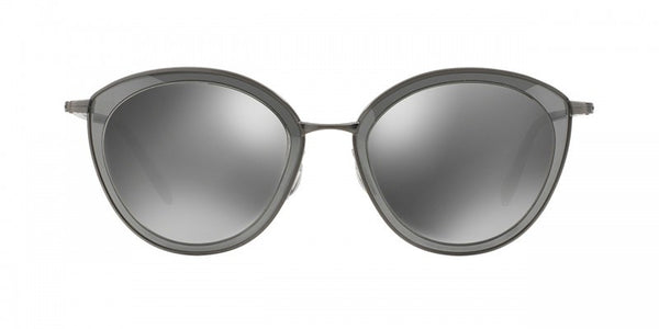 Oliver Peoples Gwynne in  Pewter + Graphite/Silver Flash Gradient Mirror
