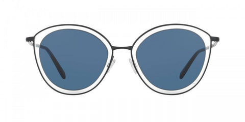 Oliver Peoples Gwynne in Navy + Clear/Blue