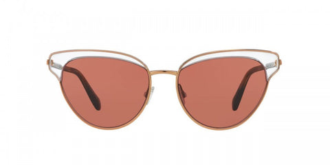 Oliver Peoples Josa in Crystal/Rose Gold + Damson