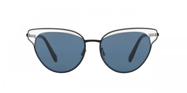Oliver Peoples Josa in Crystal/Navy + Blue