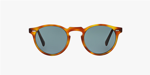 Oliver Peoples Gregory Peck Sun in Semi Matte Lbr+ Blue Photocromic Lens