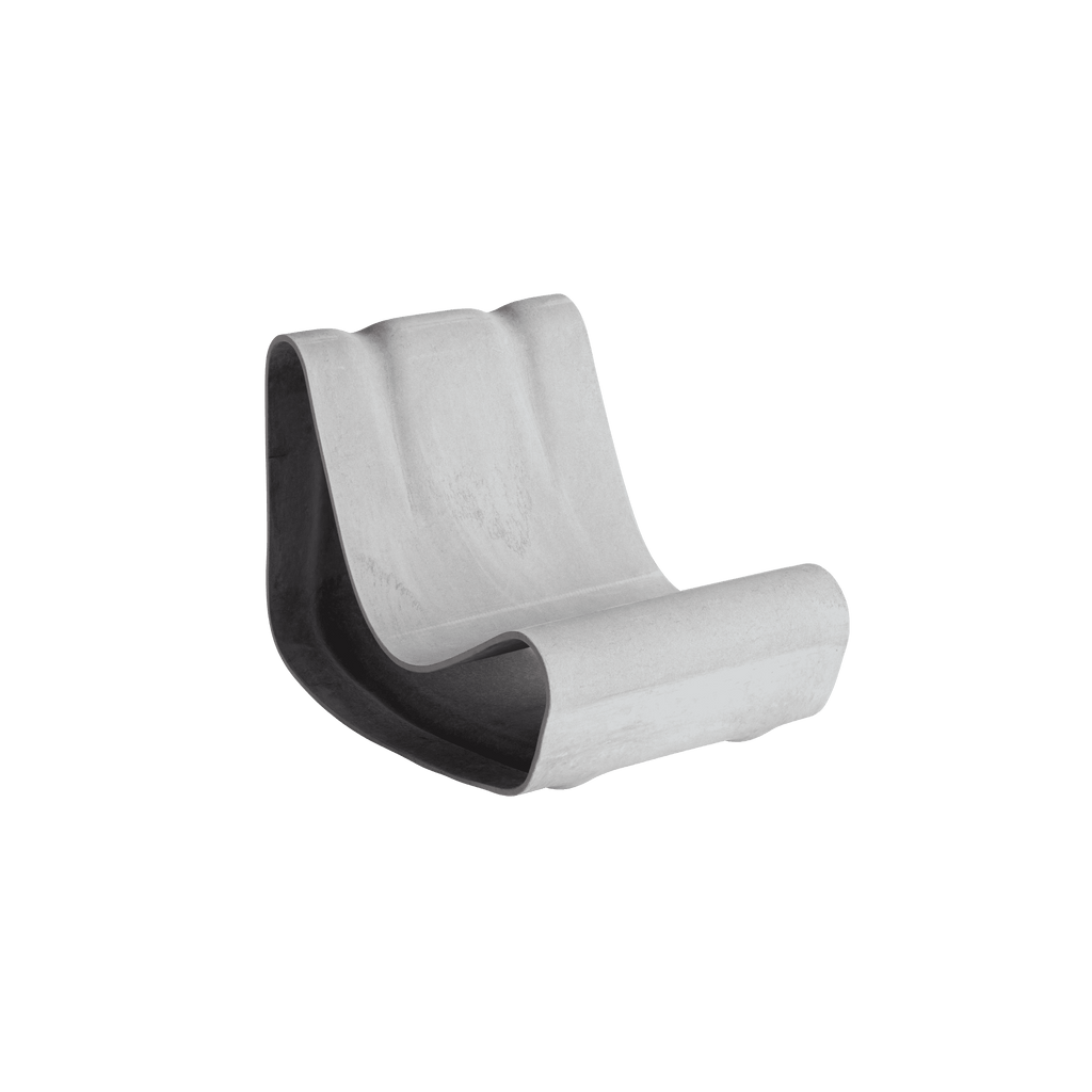 Willy Guhl Loop Chair from Swisspearl