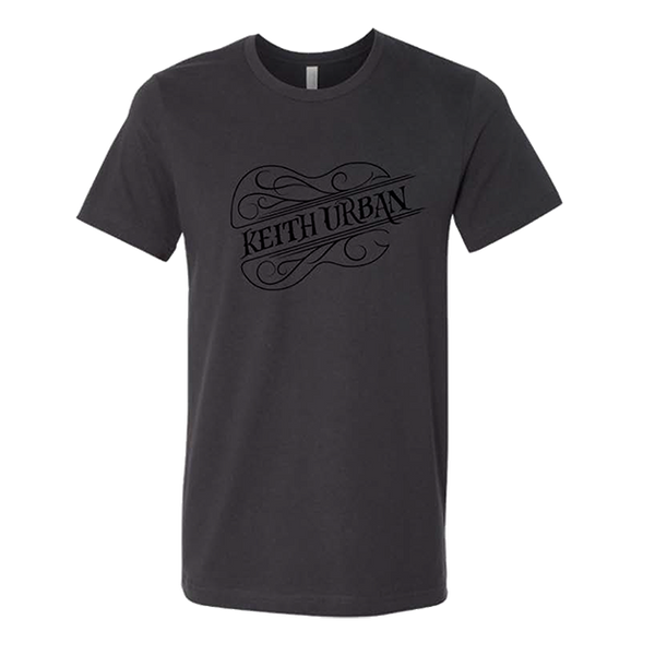 PRE-SALE Keith Urban - Guitar Name Dark Grey Unisex T-Shirt