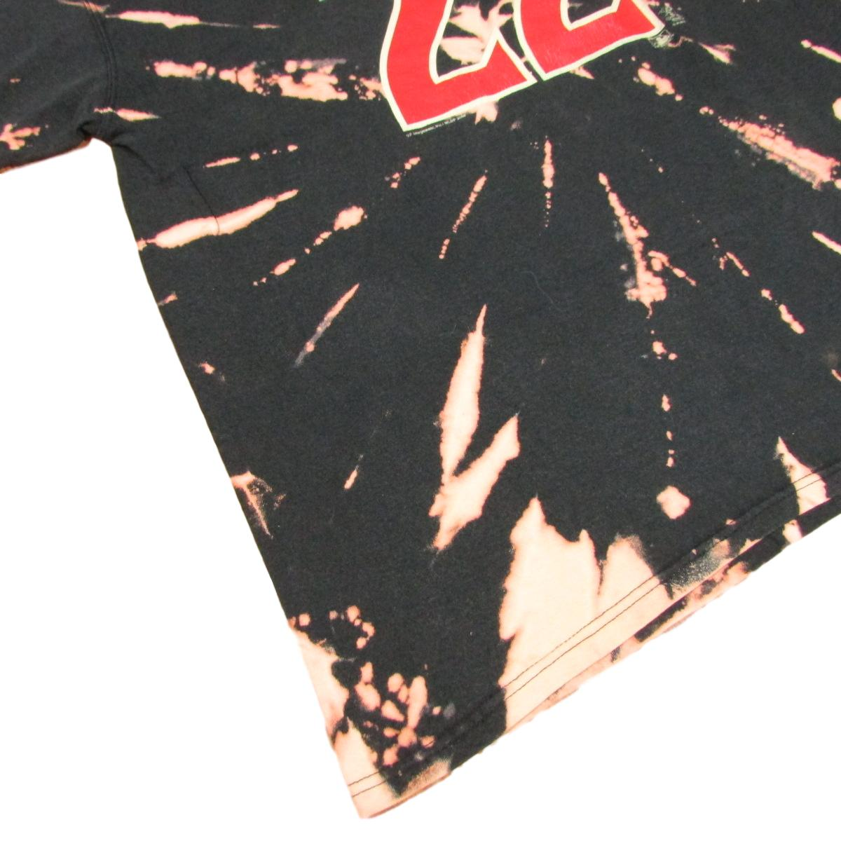 Arizona Diamondbacks Eric Byrnes Tie Dye Bleached Baseball T-Shirt Sz L