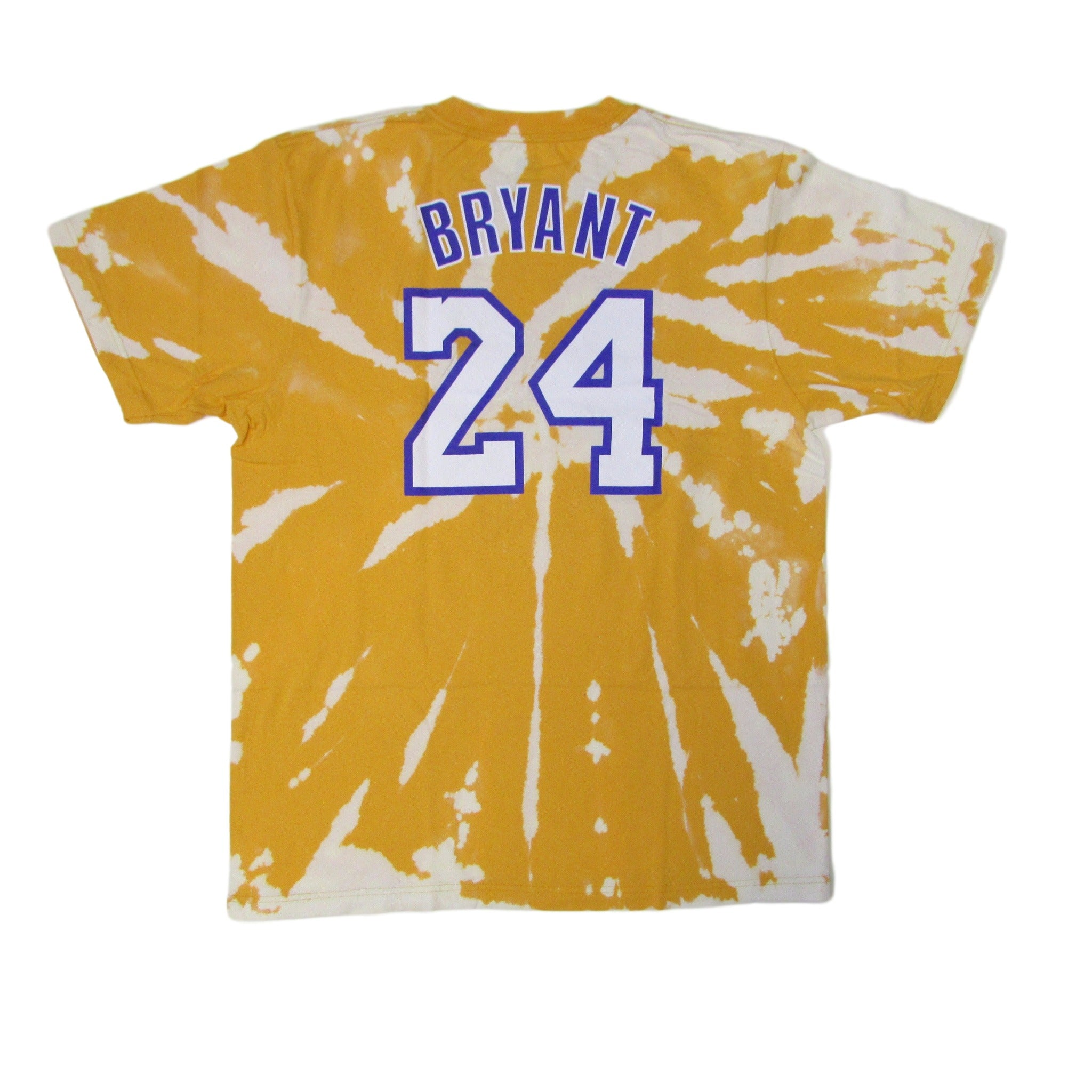 Los Angeles Lakers Tie Dye T-Shirt Kobe Byrant No.24 Sz XL