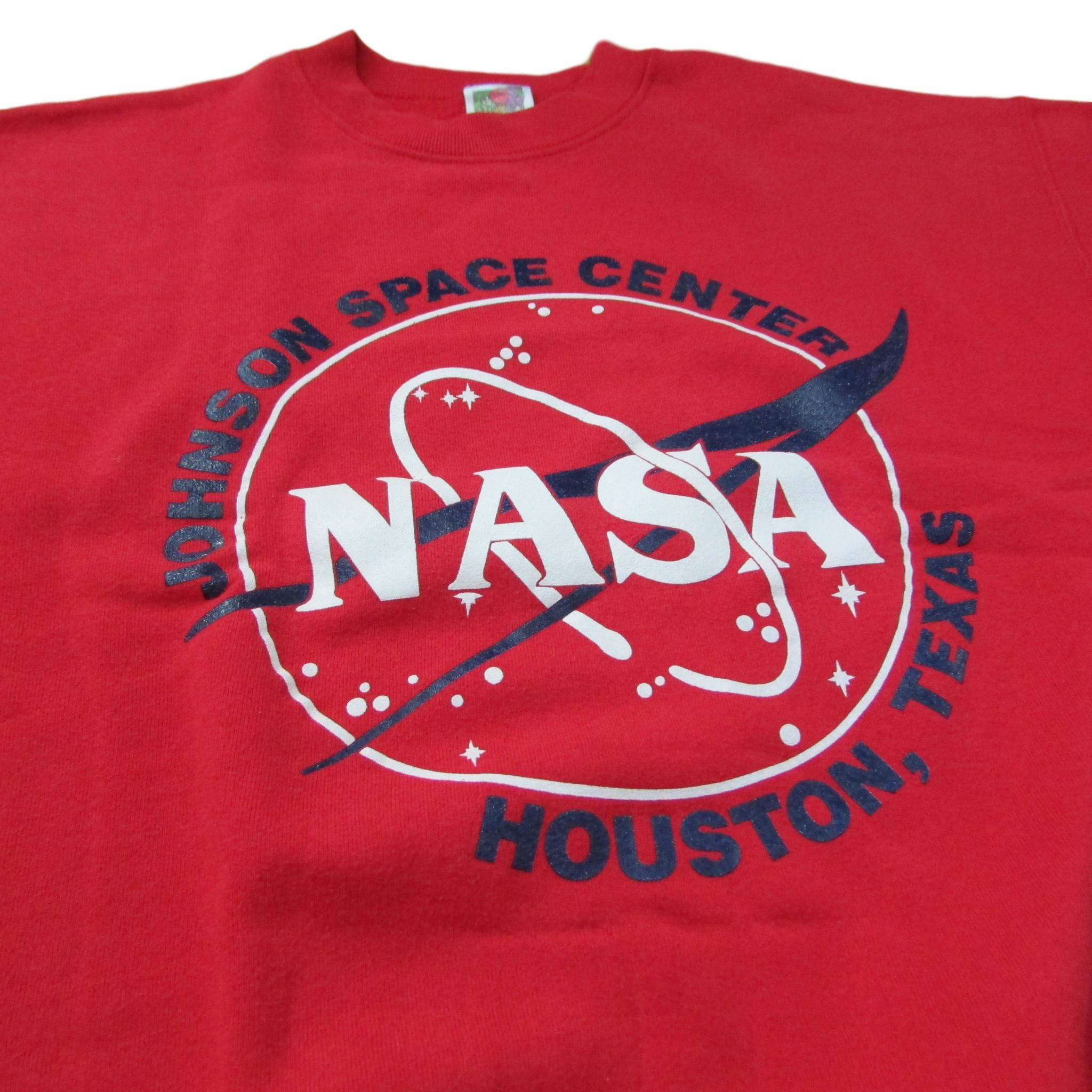 NASA Space Center Sweater Houston Texas Sz L