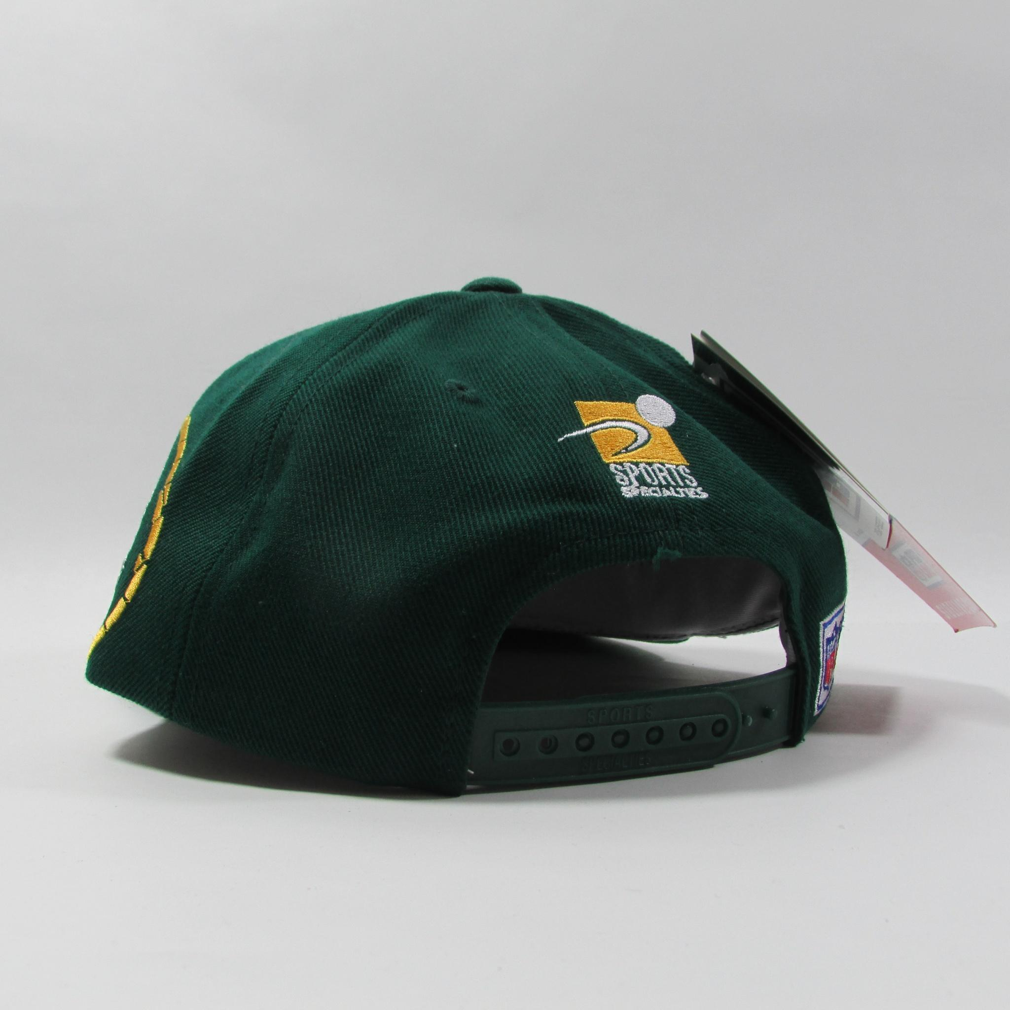 Green Bay Packers Deadstock Football Snapback Hat NFL Sports Specialties