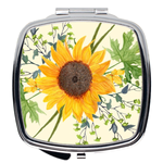 Summer Sunflower Compact Mirror