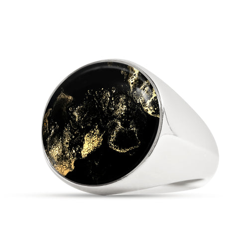 Metro Signet Ring for Men - Sizes 4-13