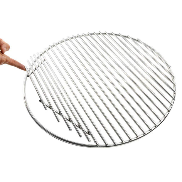 Barbecue Stainless Steel Cooking Grate Fits for Kamado Grill Like Large Big Green Egg,Kamado Joe Classic,Pit Boss K22,Louisiana K22 and Other Ceramic Grill