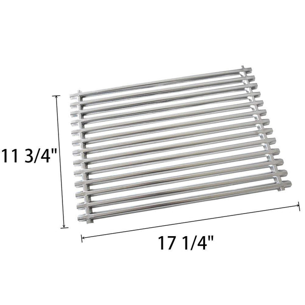 Replacement BBQ Stainless Steel Cooking Grates for Weber Spirit Genesis Grills, Lowes Model Grills