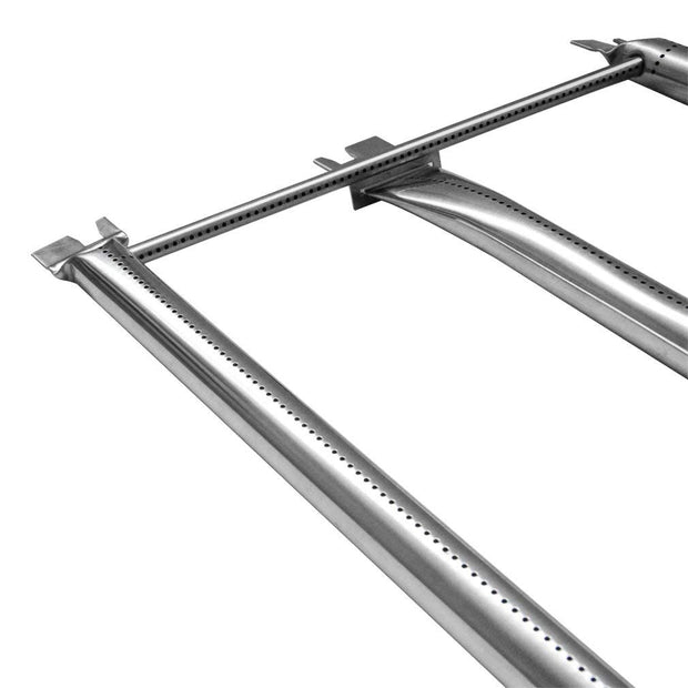 "Stainless Steel Burner Tube Set Fits for Weber Genesis 300 Series Gas Grill (2007 Models Only), 34-1/4"" Long"
