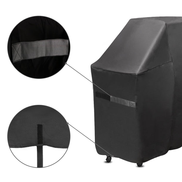 "Onlyfire 73-inch Grill Cover Fits for Weber Genesis II and Genesis II 600 Series Gas Grill Char-Broil Nexgrill Brinkmann and More(73""L25""W44.5""H)"