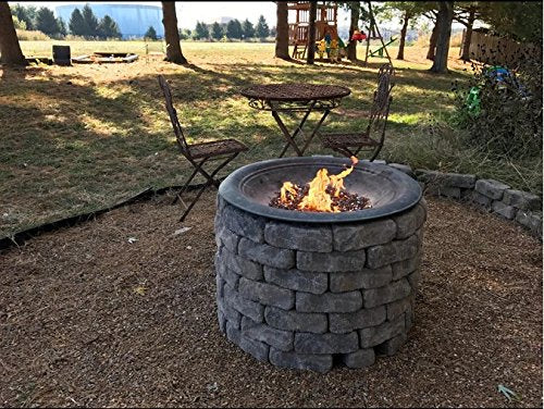 "12"" Stainless Steel Fire Pit Burner Ring"