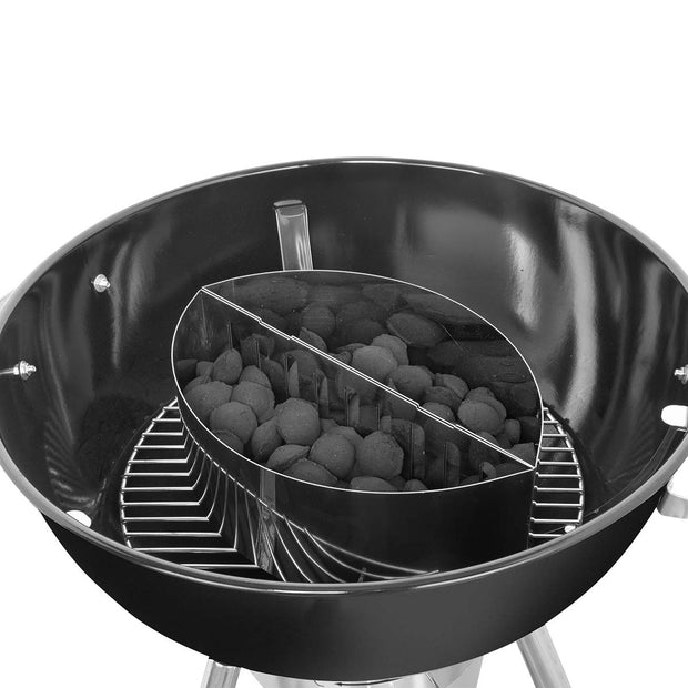 Onlyfire Stainless Steel Contoured Charcoal Basket Holders Fits for Kettle Grill,2 pcs for a Set