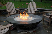 24-inch Stainless Steel Round Fire Pit Burner Ring, Double Ring