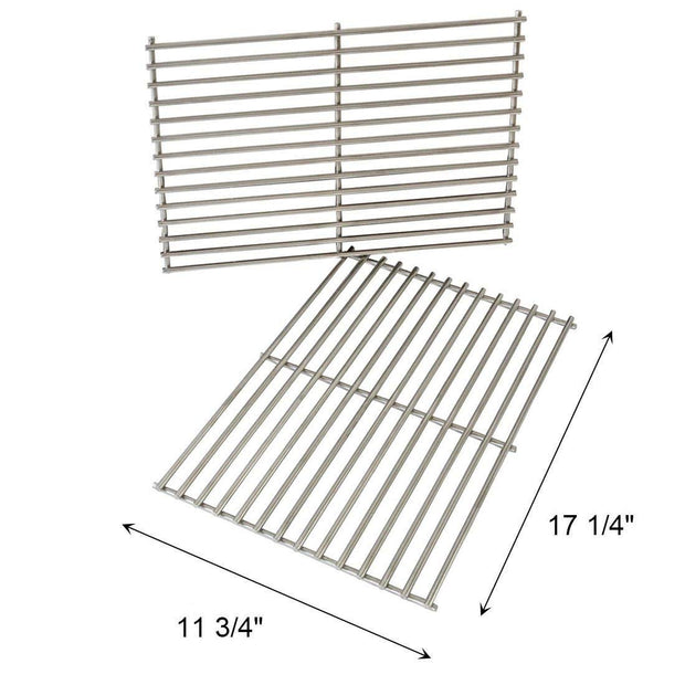 Onlyfire Replacement BBQ Cladding Cooking Grill Rod Grid Grates for Weber 7527 9930 Spirit and Lowes