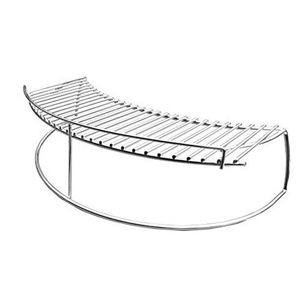 Stainless Steel Warming Cooking Rack Fits for Charcoal Kettle Grills Like Weber,Char-Broil and Ceramic Grills Like Large Big Green Egg