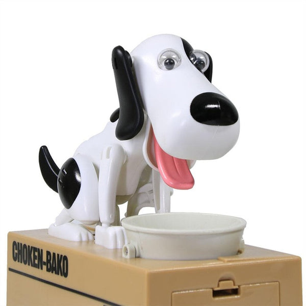 Hungry Dog Coin Bank