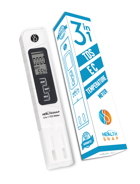 3-in-1 Digital Extended Range TDS | EC | Temp Meter, 0 - 20,000ppm