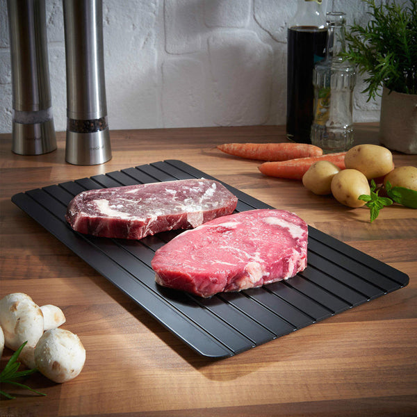 Magical Fast Defrosting Tray - Safely Thaw Meat Frozen Food Quickly