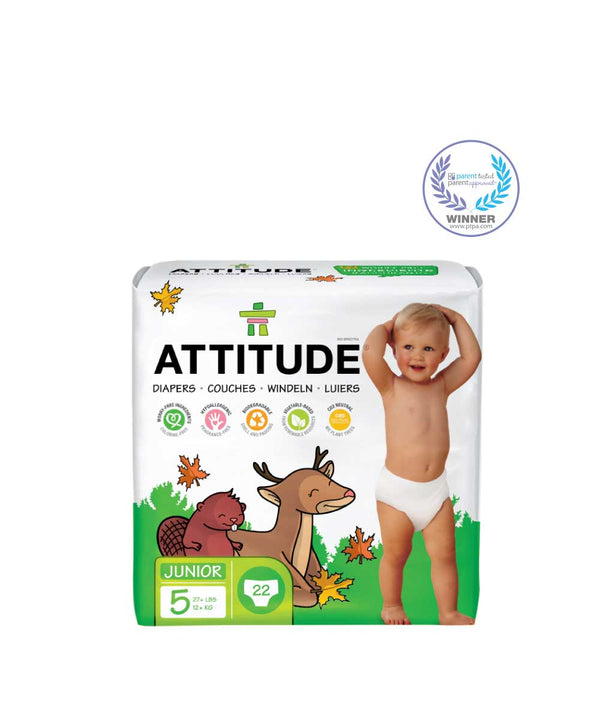 16501 ATTITUDE Biodegradable Diapers (size 5) Eco-friendly & Disposable  _en?_main?