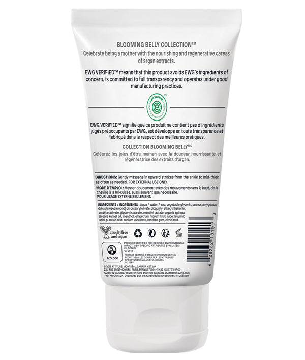 18131 ATTITUDE Blooming Belly™ - Natural Cream for Tired Legs for expecting Moms - EWG Safe _en?_hover?