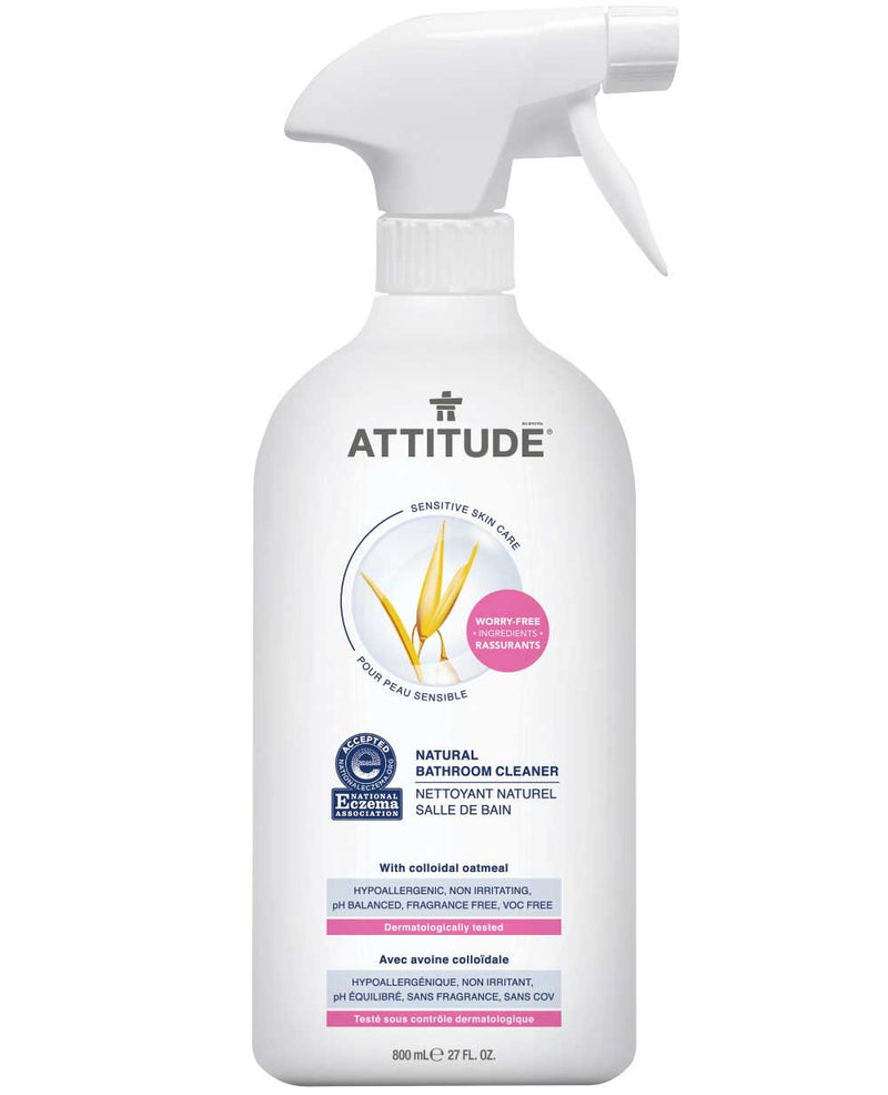 60048 ATTITUDE Eczema-friendly Window & Mirror Cleaner - Fragrance-free  _en?_main?