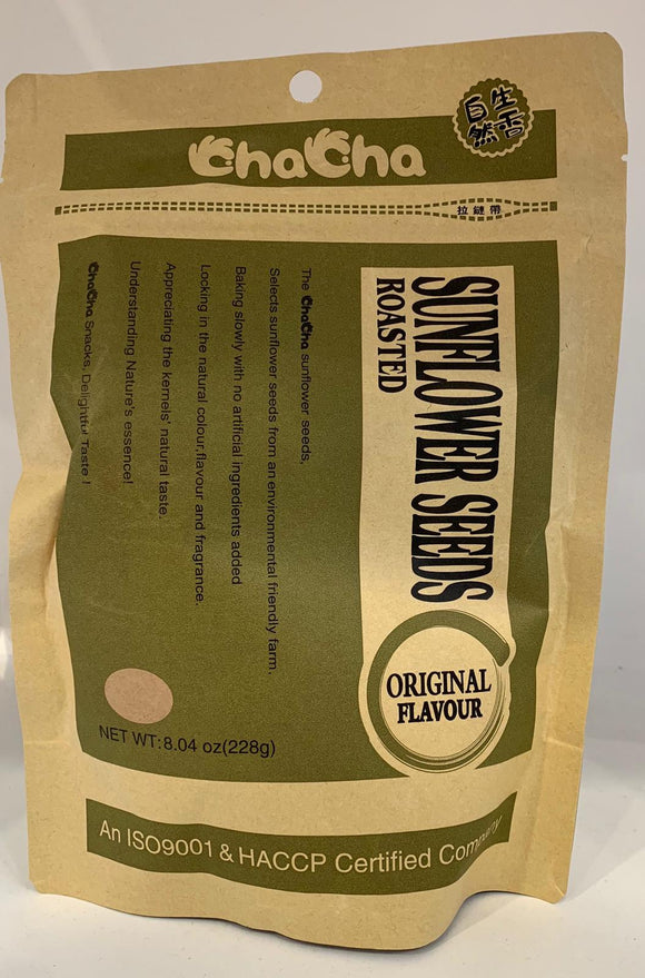 Cha Cha Sunflower Seeds Original 228G