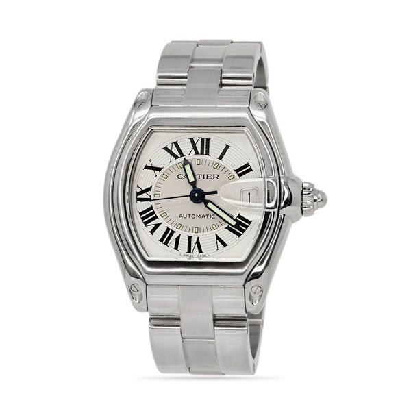 Cartier Roadster Stainless Steel Watch 2510
