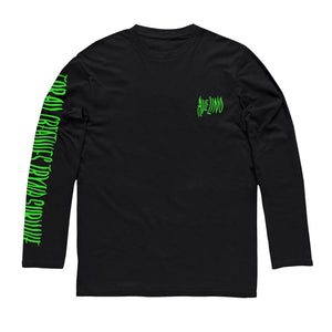 Black Long Sleeve T-Shirt: For All Creatives Tryna Survive