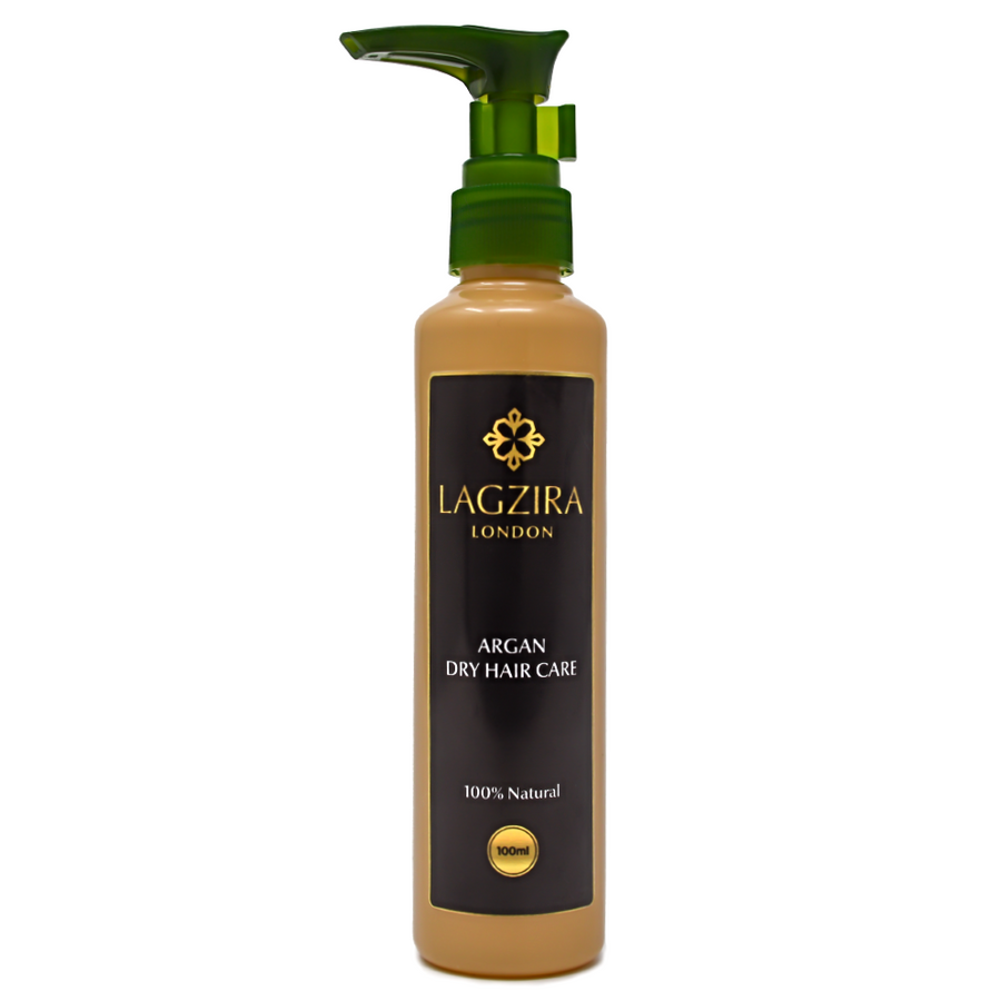 Organic Dry Hair Care With Argan Oil 100ml - Lagzira London