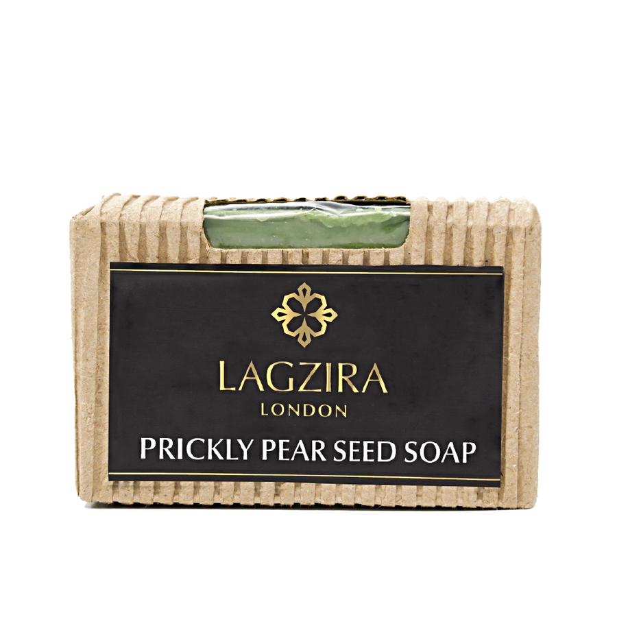 Artisanal Prickly Pear Seed Natural Soap 75g - Lagzira London