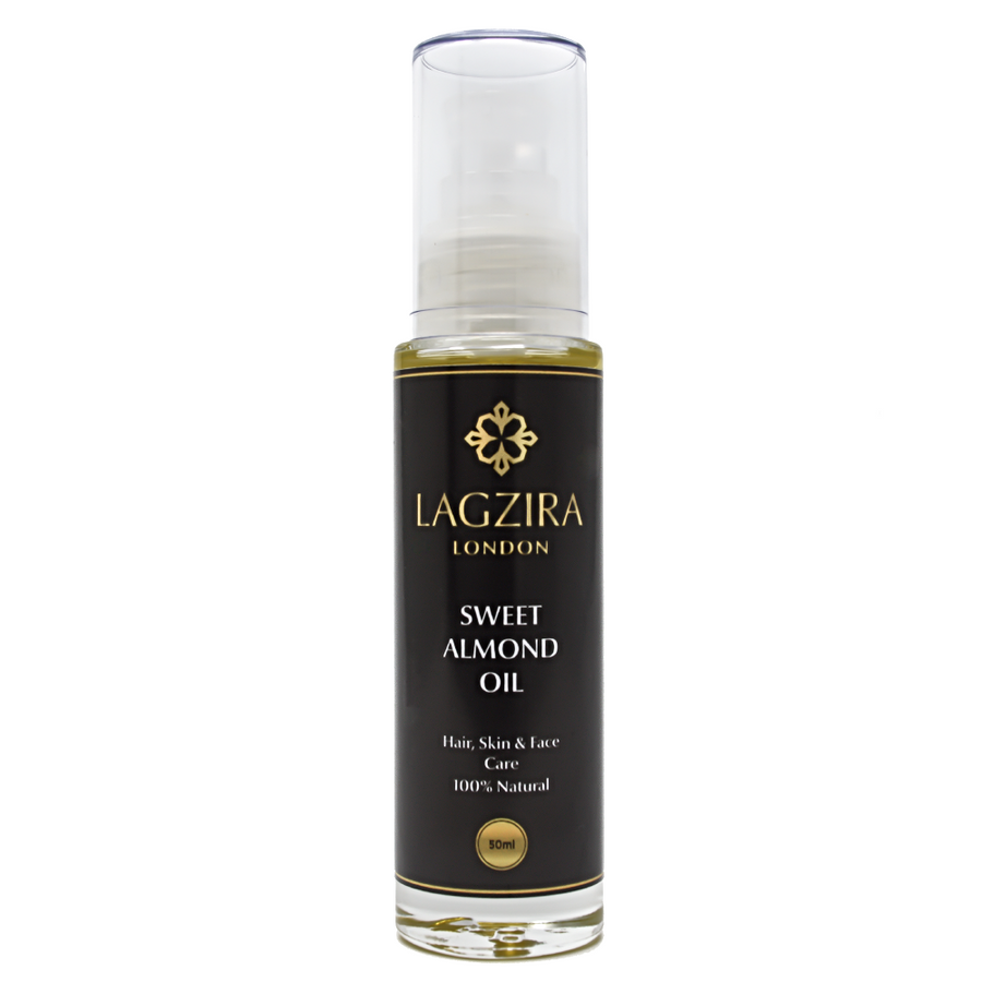 Organic Sweet Almond Oil 50ml - Lagzira London