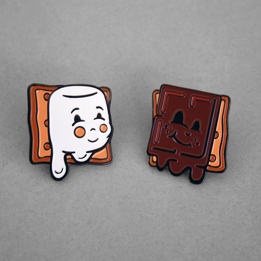 Food Friends Pins: S'mores