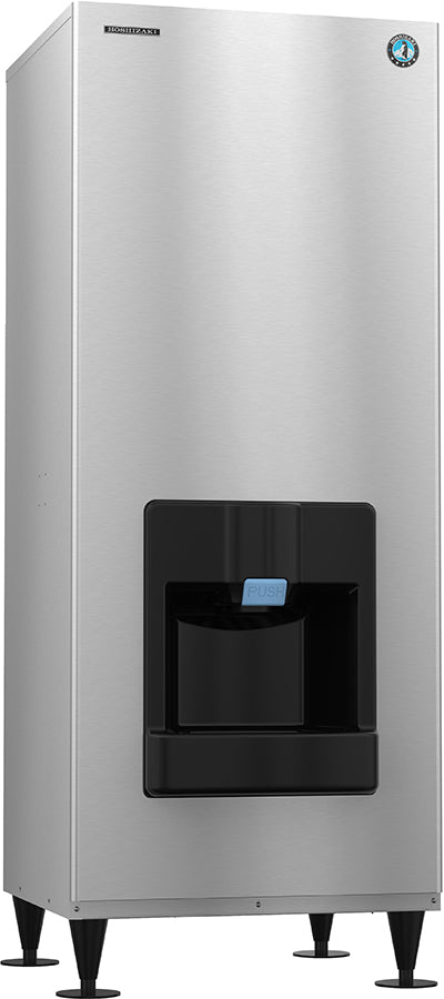 Hoshizaki DKM-500BWJ 540 Lb Crescent Cube Hotel Ice Machine & Dispenser, Water Cooled, 30