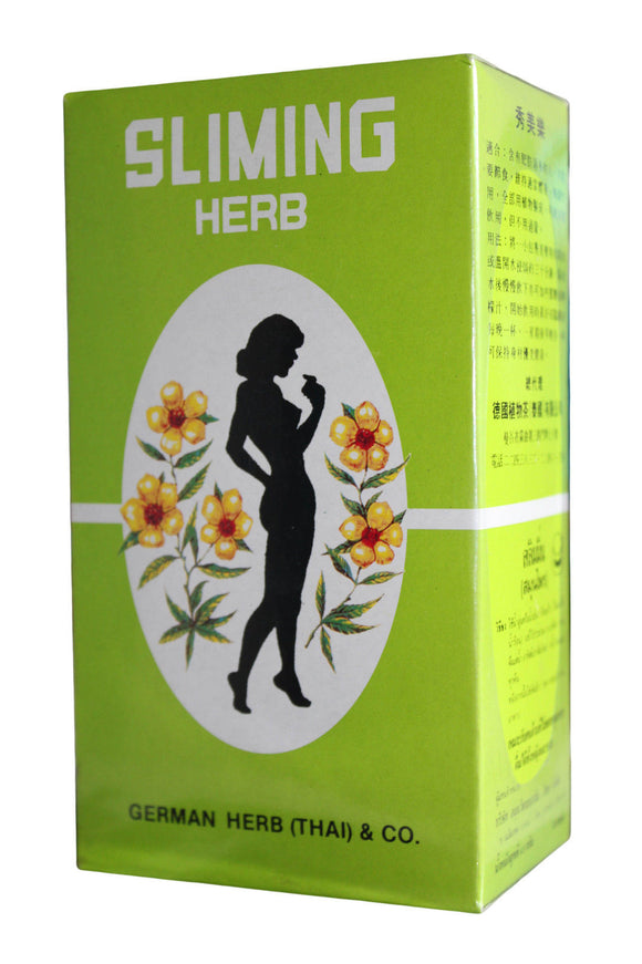 Slimming Herb herbal infusion from German Herb (Thai) Co
