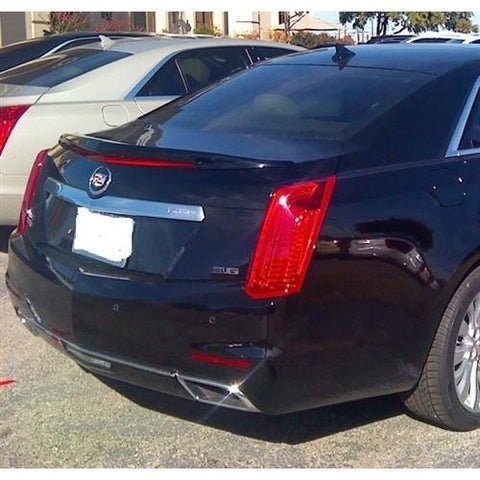 Unpainted 2014-2017 Cadillac CTS Spoiler Sedan Factory Style