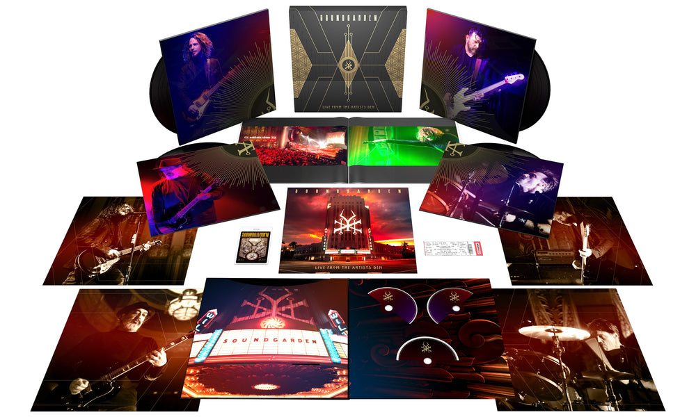 Live From The Artists Den Super Deluxe - 4LP/2CD/BLU-RAY