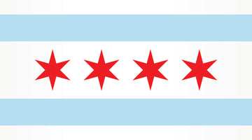The Chicago flag