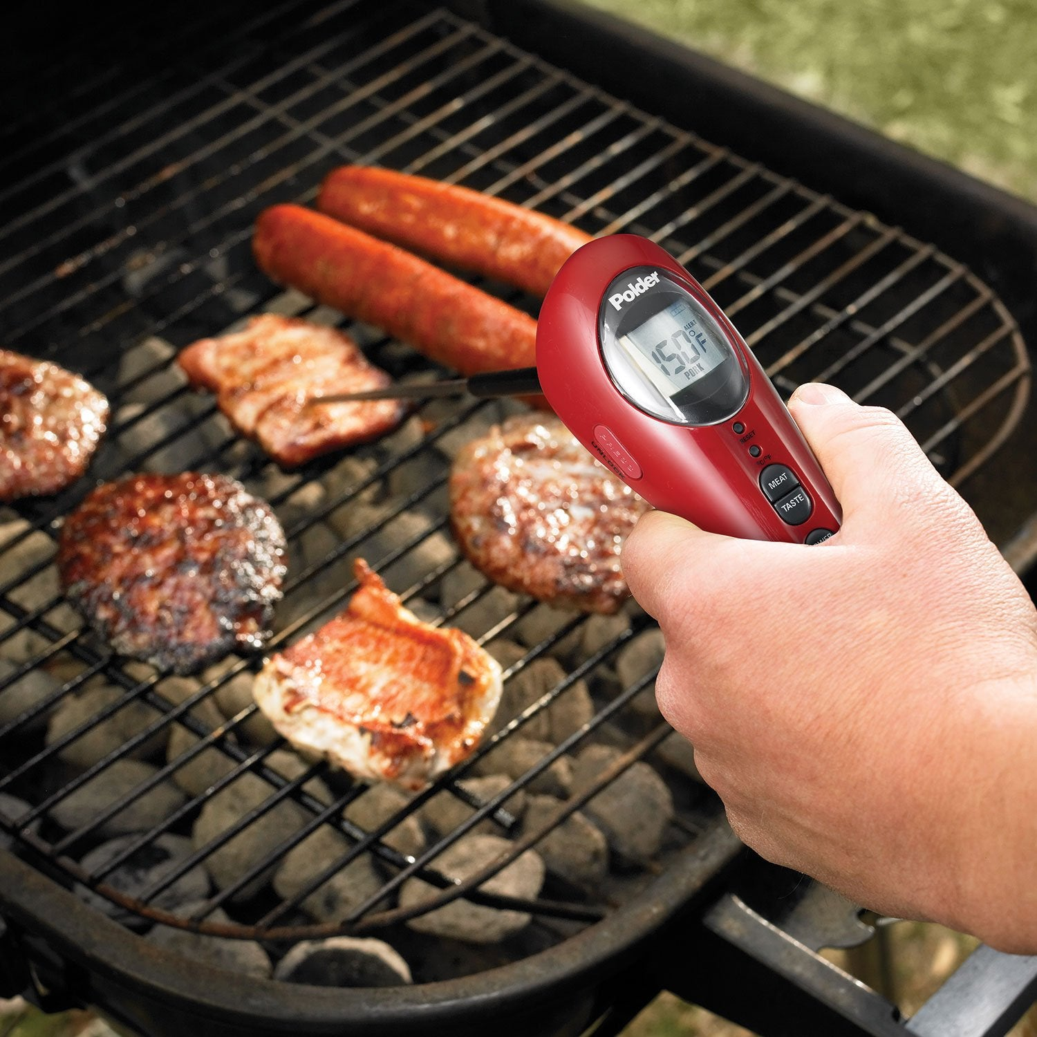 BBQ Safe-Serve Instant Read Thermometer