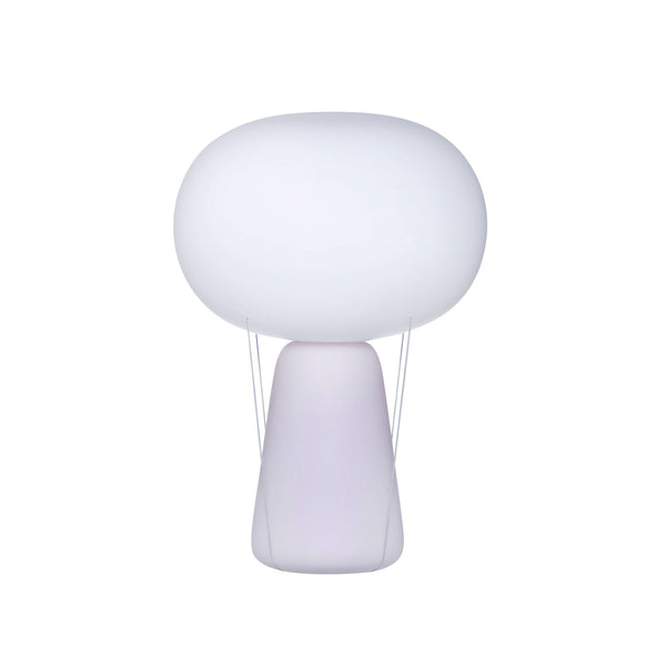 Blow@Lamp White Base with Opal Top