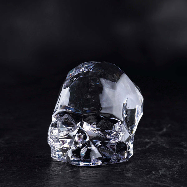 Memento Mori@Faceted Skull Clear Small